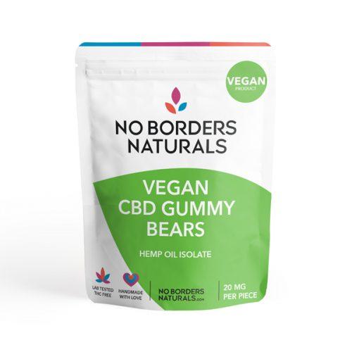 Vegan CBD Gummy Bears