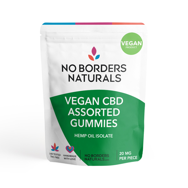 Vegan CBD Gummy Assortment - Worms and Bears